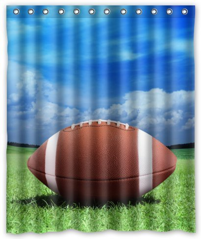 Top Home Textiles Custom Cool American Football Polyester Fabric Bathroom Decor Shower Curtain 60 X 72 XKOWDEF1376 Amazoncouk Kitchen