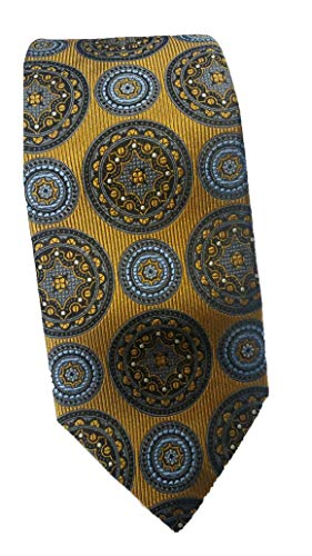 Robert Talbott Gold with Multi Color Medallion Best of Class Tie ()