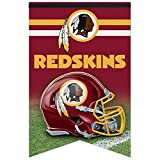 NFL Washington Redskins WCR94169013 Premium Felt Banner, 17'' x 26''