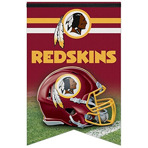 NFL Washington Redskins WCR94169013 Premium Felt Banner, 17'' x 26'' by WinCraft