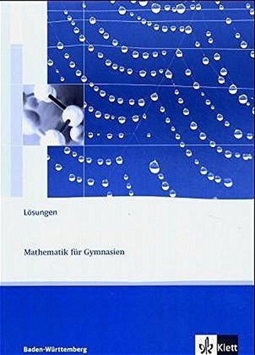 Lambacher Schweizer - aktuelle Ausgabe für Baden-Württemberg / Lösungen 3
