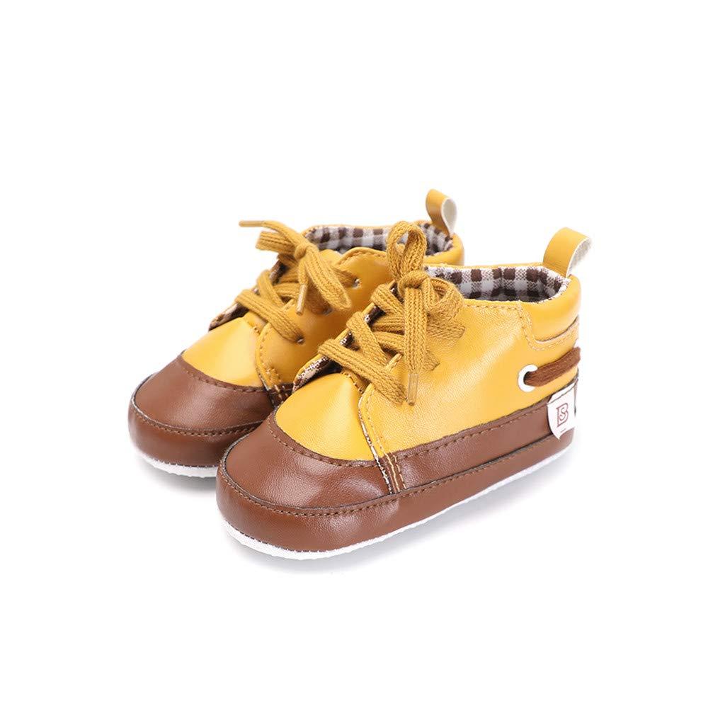 ❤ Zapatos para bebé Primer Paso, Niño pequeño Bebé Niños Niñas Cuna Enlazado Empalme Suave Suela Antideslizante Zapatos Absolute: Amazon.es: Ropa y ...