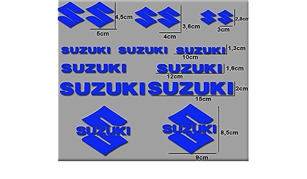 blau Ecoshirt QA-LBS4-Y1SJ Motorrad Rgsx Suzuki R169 Stickers Aufkleber Decals Autocollants Adesivi