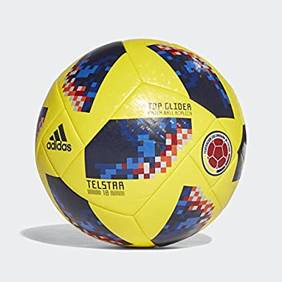 2018 Colombia World Cup Top Glider Football - Yellow/Navy