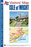 Isle of Wight Visitors Map (A-Z Visitors Map)