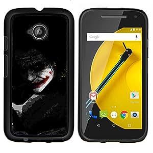 Stuss Case / Funda Carcasa protectora - Joker Sombra - Motorola Moto E2 E2nd Gen