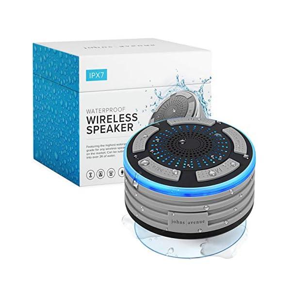 Waterproof Bluetooth Shower Speaker by Johns Avenue