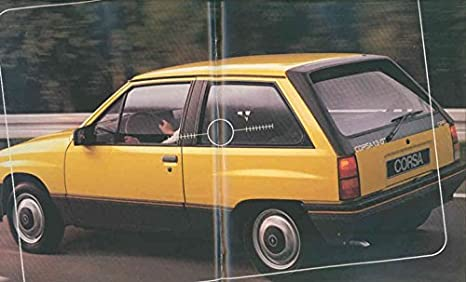 Amazon.com: 1986 Opel Corsa German Brochure GT GL GLS: Entertainment Collectibles