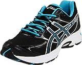 ASICS Women's GEL-Kanbarra 6 T188N.9099 Running Shoe,Black/Onyx/Neon Blue,8 M US