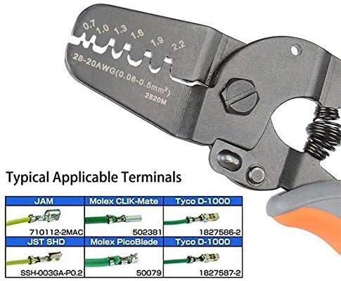 YYG-YYG ミニプライヤーツールハンドストリッパー作品上のマイクロパワー・オープンバレルクリンプハードウェアツールキット ペンチ