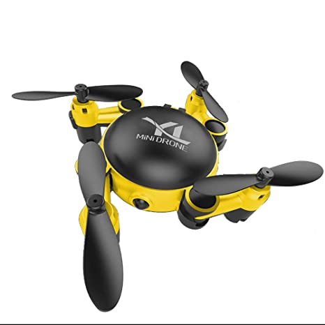 YEARYOWN Mini Drone Plegable FPV RC Quadcopter con transmisión HD ...