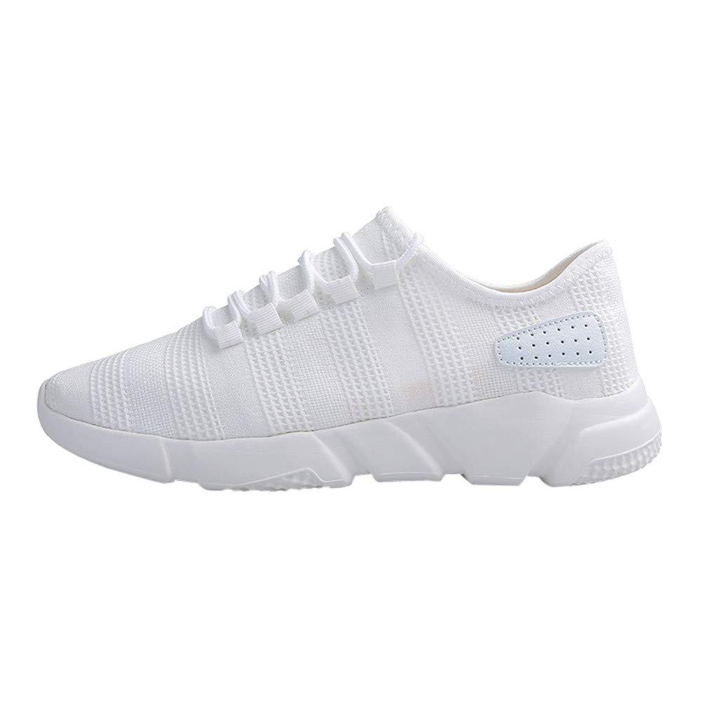 Hombres Zapatillas Casual de Deporte Malla Zapatillas Zapatos de Gimnasia para Caminar de Peso Ligero: Amazon.es: Zapatos y complementos
