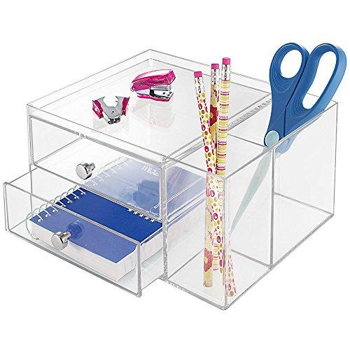 mDesign Supplies Organizer Scissors Highlighters