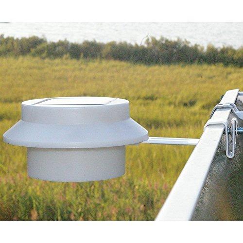 Brinkmann solar fence light 2 pack