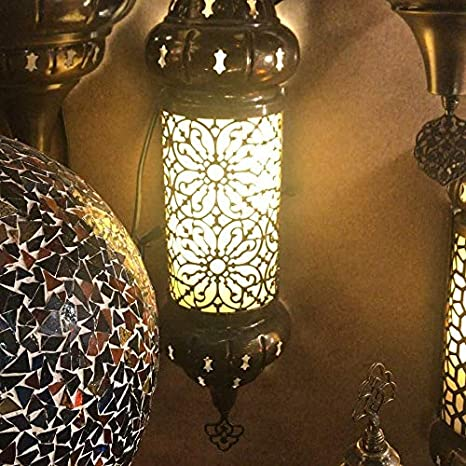 aplique de pared Nº2 estilo árabe turco: Amazon.es: Iluminación