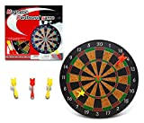 Mozlly Magnetic Dartboard Game Safe Popular Indoor Outdoor Toy Set 12 Inch Board And Darts With Magnet - Best Gift For Kids Tweens Adults - Item 101305