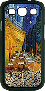 Vincent Van Gogh Caf¡§| Terrace At Night- Case for the Samsung Galaxy S3 i9300 -Hard Black Plastic Case