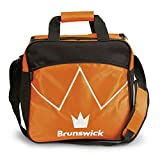 Brunswick Blitz Single Tote Bowling Bag, Orange