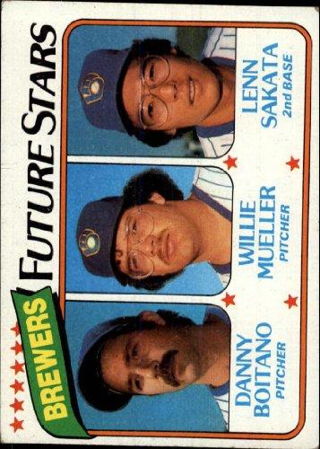 1980 Topps Baseball Rookie Card #668 Lenn Sakata ()