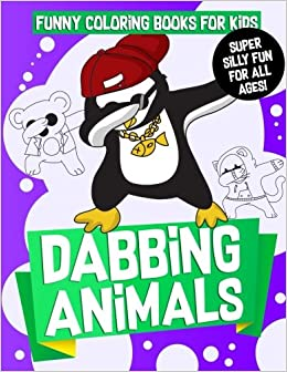 Amazon.com: Funny Coloring Books for Kids: Dabbing Animals: The ...