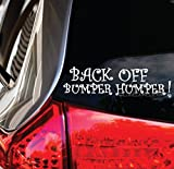 f150 back bumper - BACK OFF BUMPER HUMPER DECAL _ tailgater funny cute car truck window sticker