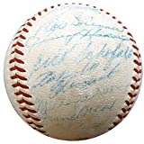 1960 Pittsburgh Pirates Autographed Official National League Baseball With 27 Total Signatures Including Roberto Clemente Beckett BAS #A74717