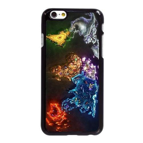 U5R73 monde abstrait Q7O5PG coque iPhone 6 Plus de 5,5 pouces cas de couverture de téléphone portable coque noire KR5Bcoque LG6NM