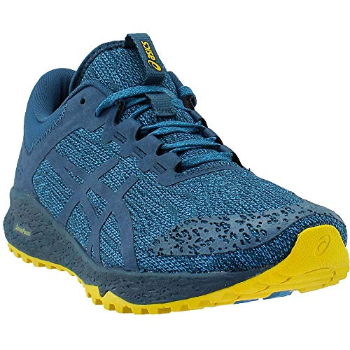 ASICS Men's Alpine XT Running Shoe, Turkish Tile/Ink Blue/Lemon Curry 9 D(M) US (Tiles Ink)