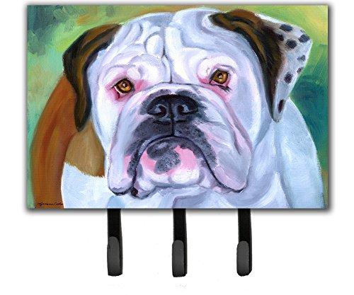 (Caroline's Treasures 7350TH68 Miss English Bulldog Leash or Key Holder, Triple,)