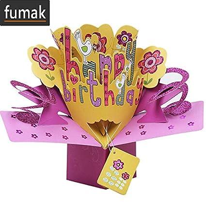 Tarjeta de cumpleaños - 3D Pop Up Tarjetas de San Valentín ...
