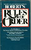 Roberts Rule of Order, Robert Gen, 0515087416