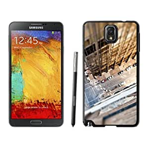 NEW Unique Custom Designed For Case Samsung Galaxy S5 Cover Phone Case With Look Down City Rooftop_Black Phone Case