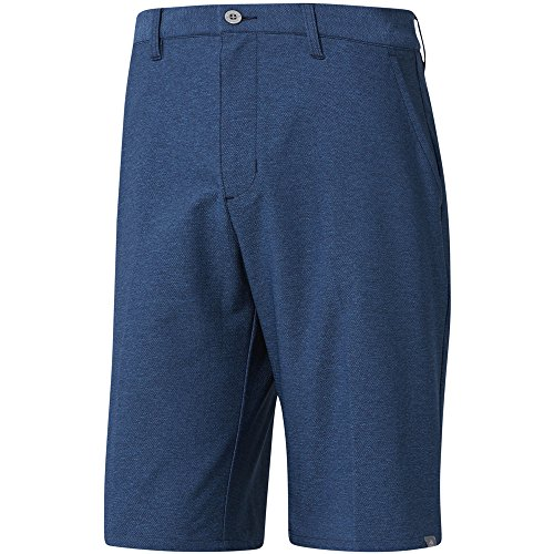 adidas Golf Men's Ultimate 365 Twill Crosshatch Shorts, Noble Indigo, - Adidas Indigo Shorts