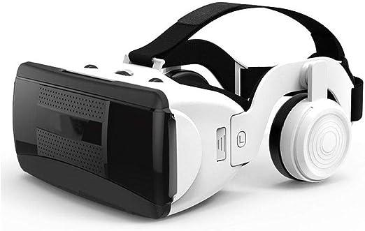 DAETNG Auriculares 3D VR Gafas de Realidad Virtual Casco Bluetooth ...