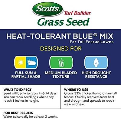 Scotts Turf Builder Grass Seed - Heat Tolerant Blue Mix