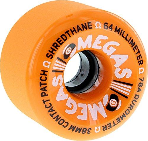 愚かスチュアート島ピービッシュSector 9オメガオレンジスケートボードホイール – 64 mm 78 a ( Set of 4 )