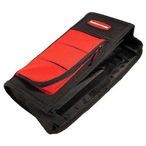 Rubbermaid 3339-20 Automotive Wedge Organizer: Center Console/Seat Gap Car Storage Caddy, Soft Sided