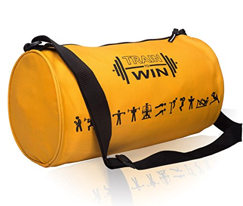 Cosmus Fitwell 23Litres Orange Gym Bag