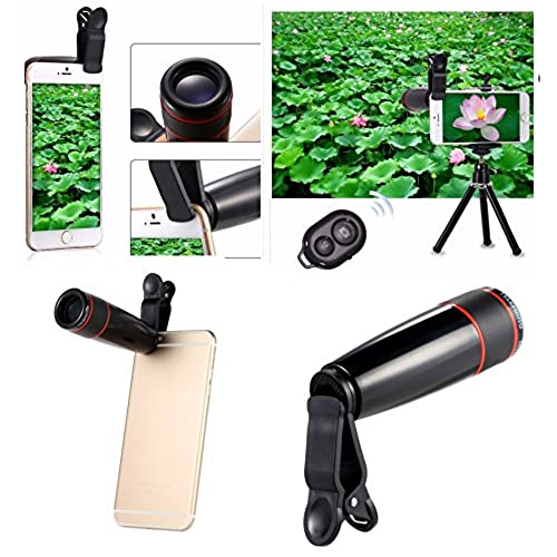 new concept dfd51 78510 free shipping Dinnx Best Value 12 in 1 Cell Phone Camera Lens Kit ...