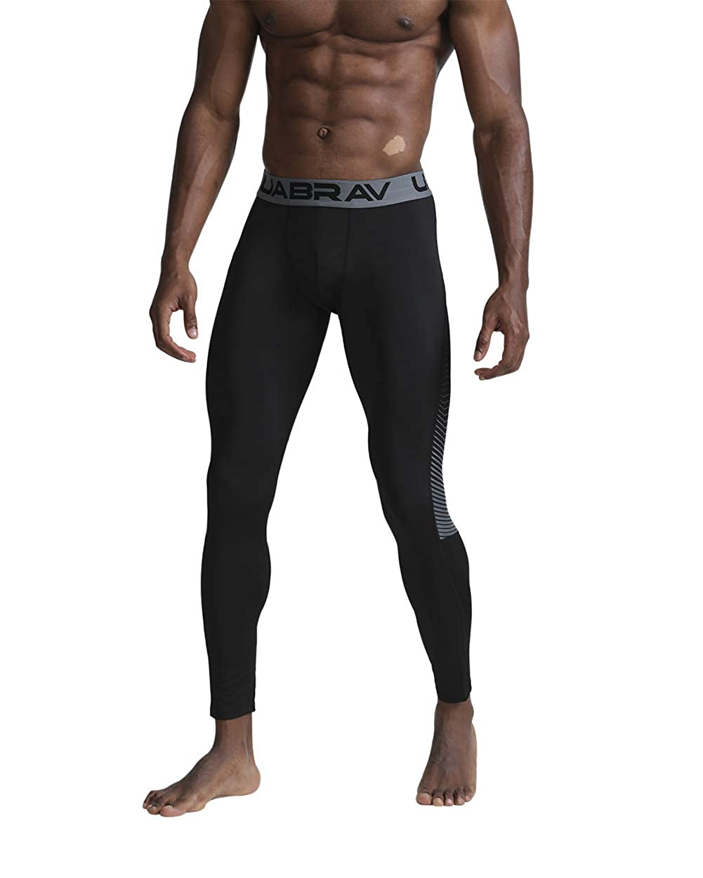 Speverdr/Mens/Compression/Pants/Cool/Dry/Sports Baselayer/Gym/Workout/Running/Underwear Tights