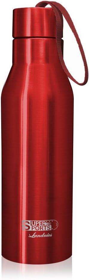 720ML Botellas Agua de Acero Inoxidable, Deportiva Botella Térmica Libre de BPA 24 Horas Frío y 12 Horas Caliente, Termo Aislada para Camping Senderismo Ciclismo