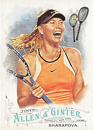 (Maria Sharapova trading card (Tennis Champion) 2016 Topps Allen Ginters #212)