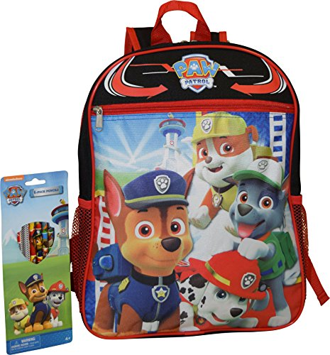 Nickelodeon Patrol Backpack Paw Pencils product image
