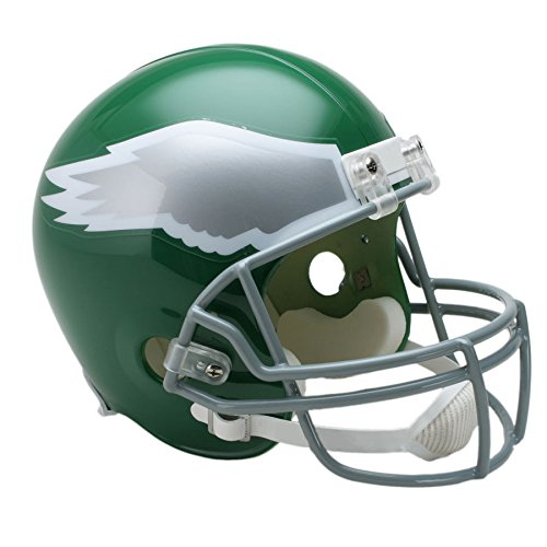 Philadelphia Eagles 74-95 Officially Licensed Replica Throwback Football (Nfl Throwback Football Helmet)