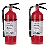 Kidde 21005779 Pro 210 Fire Extinguisher, ABC, 160CI, 4 lbs, (2Pack) i