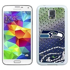 Beautiful And Unique Designed Case For Samsung Galaxy S5 I9600 G900a G900v G900p G900t G900w With Seattle Seahawks 02 White Phone Case