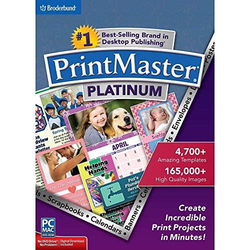 Encore PrintMaster v7 Platinum 7.0 (Calendar Program)