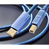 フルテック ハイエンドオーディオグレードUSBケーブル 【A】タイプコネクターオスと【B】タイプコネクターオス (1.2m) GT2 USB-B/1.2m