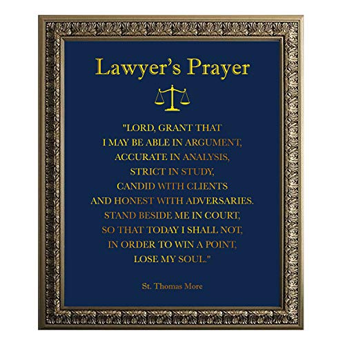 Thomas Jefferson Quote Gold Foil Print - Law School Gift - Lawyer Gift - Law Office Wall Art - Gift for Law Students Lawyer Art - 8 x 10 Unframed