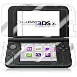 Nintendo 3DS XL Screen Protector, IQ Shield LiQuidSkin Full Body Skin + Full Coverage Screen Protector for Nintendo 3DS XL HD Clear Anti-Bubble Film - with